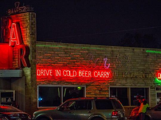 Bar 52, 3806 English Avenue.