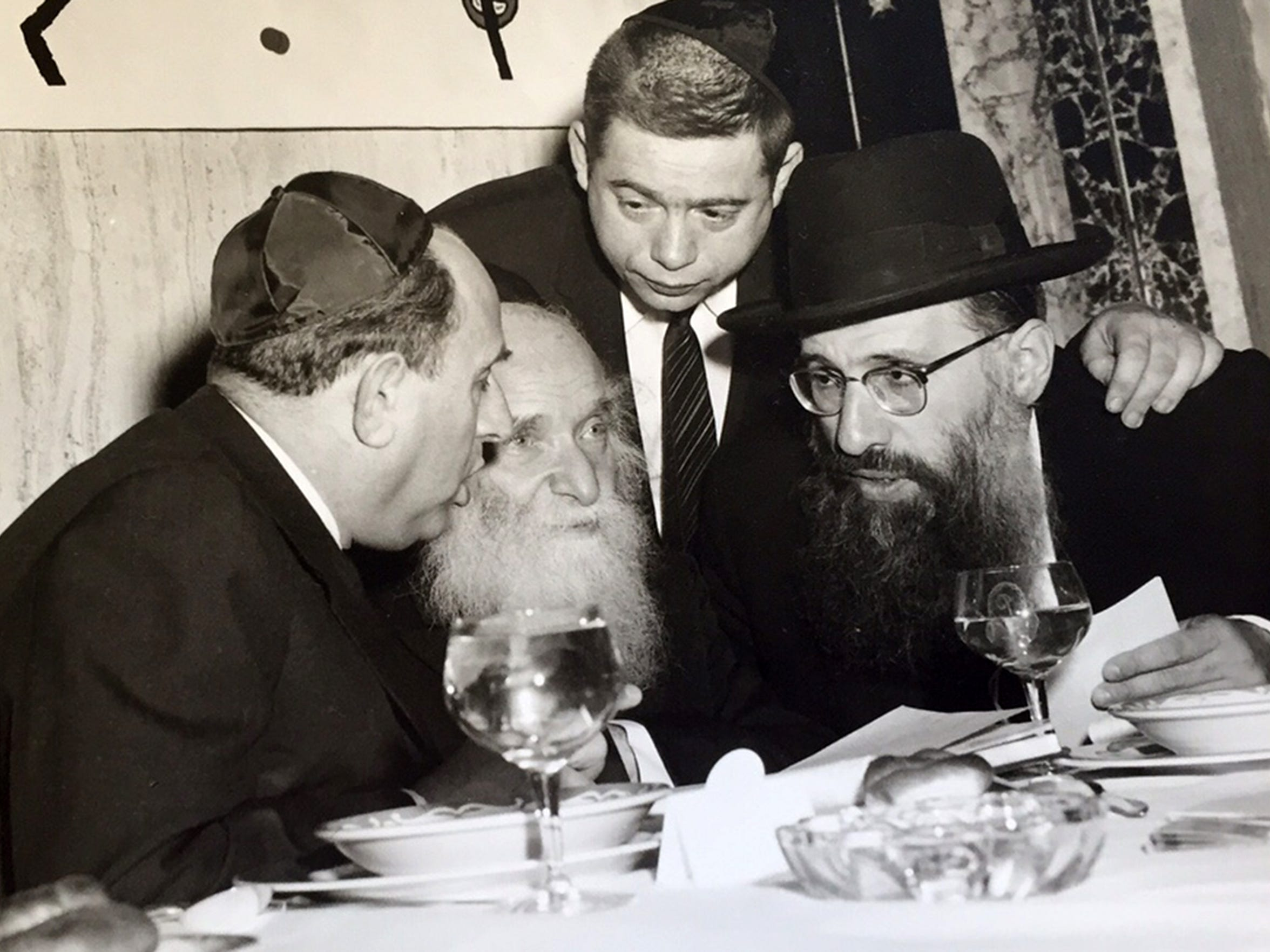 Photograph of Aaron Kotler, founder Beth Medrash Govoha in Lakewood and grandfather of the yeshiva's current president Rabbi Aaron Kotler. (Photo courtesy of Rabbi Aaron Kotler)