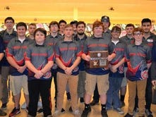 Creek Wood boys bowling team finishes 2nd in district