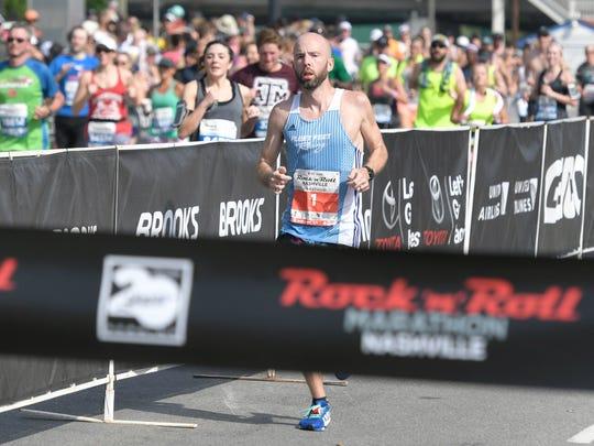 Scott Wietecha is the seven-time defending champion of the St. Jude Rock 'n' Roll Nashville Marathon.