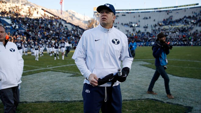 Former Brigham Young Cougars head coach Bronco Mendenhall will take over at Virginia.
