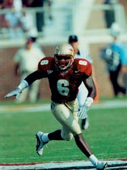 Derrick Gibson was a four-year letterman at Florida