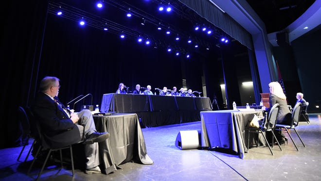 The Arkansas Supreme Court appeared on the ASU Mountain Home campus to hear oral arguments in the Ray Hobbs, Director v. James Grubbs, and Ray Hobbs, Director v. Aaron Hodge juvenile sentencing case.