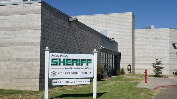 """A 71-year-old inmate was found dead under """"suspicious"""" circumstances at the Tulare County Pretrial Facility."""