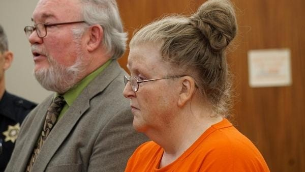 Michele Rothgeb, 57, faces a charge of manslaughter in her daughter's death.