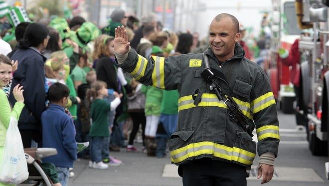 Ryan Whittington of the Ocean City Fire Department