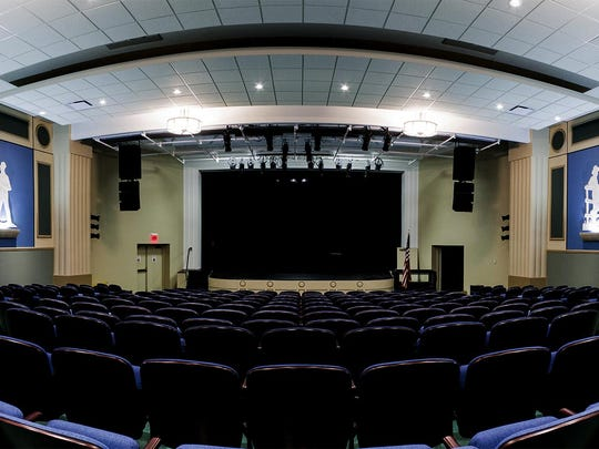 The new theater inside the Markay Cultural Arts Center is no longer made to seat over 250 people for movies, but for live performances.