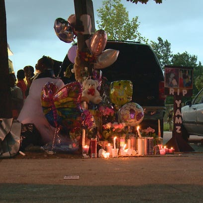 A vigil was held for Tamara Gliss in Shaw on Friday