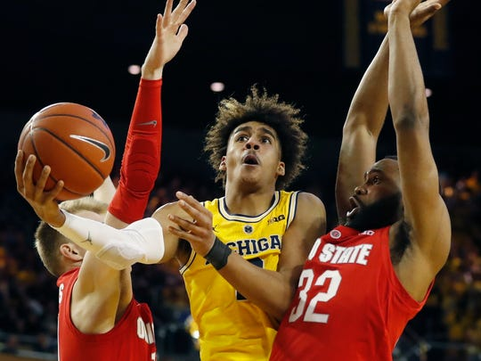 Michigan sophomore guard Jordan Poole played at Milwaukee King High School.