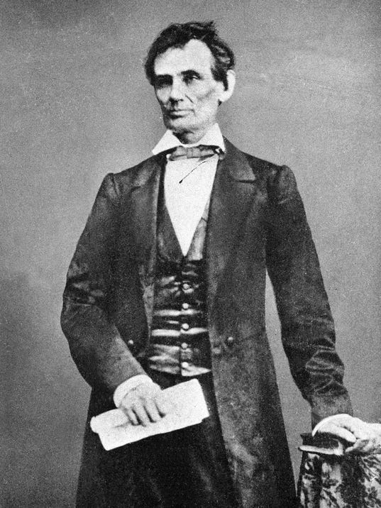my opinion on abraham lincoln On this november 6th day in 1960, abraham lincoln is elected the 16th president of the united states over a deeply divided democratic party becoming the first.