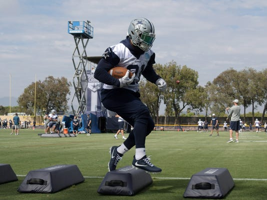 NFL: Dallas Cowboys Training Camp