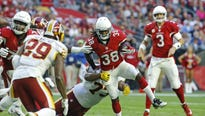The Cardinals depth chart at running back became clearer on Monday with the news that Andre Ellington has re-signed with the team.