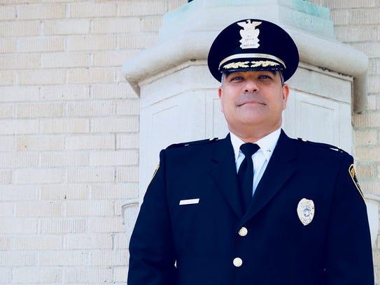 Corpus Christi assistant police chief Michael Alanis