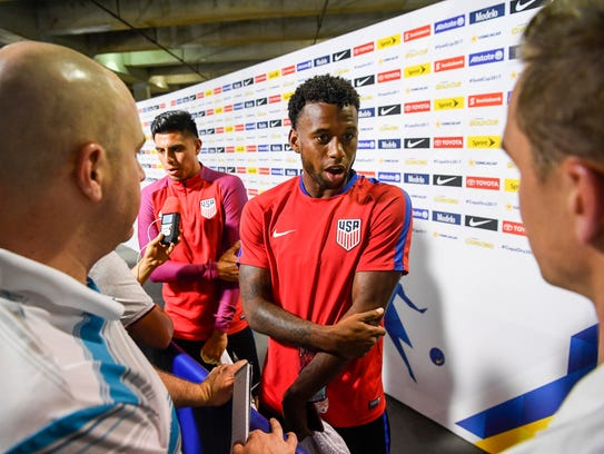 The US soccer team's Joe Corona and Kellyn Acosta talk