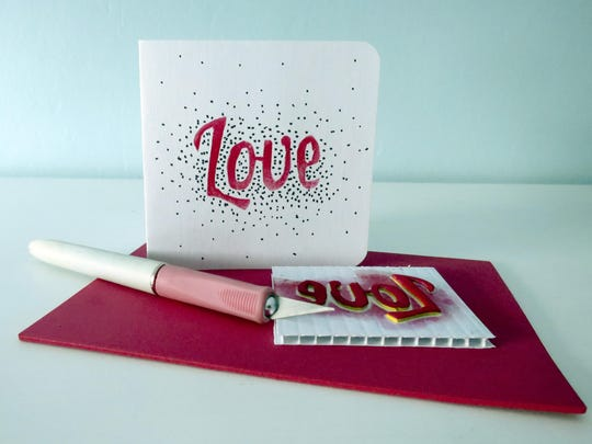 Crafts Whichcraft Valentine Stamps (2)