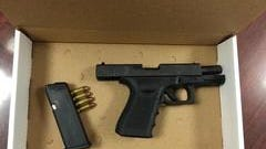 Wilmington police say they seized this gun Monday from a 17-year-old in the 200 block of N. Broom St.