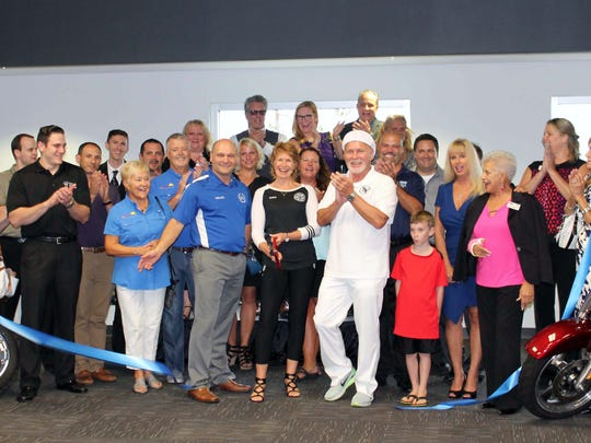 A ribbon cutting for Snowbird Events Wednesday celebrated the upcoming Snowbird Athletic Games, Snowball Charity Gala and Business Expos.