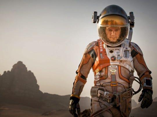 "Matt Damon in ""The Martian."""
