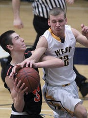 Marshfield's Adam Fravert, left, was a honorable mention all-Wisconsin Valley Conference pick last year.