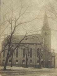 Church of Peace on South Military Road in 1920.