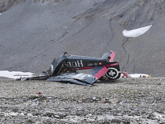 Switzerland Plane Crash