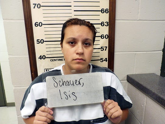 Isis Schauer is charged with first degree murder, armed