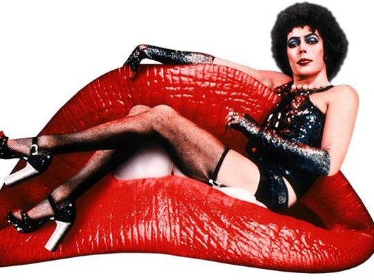 "The Englert Theatre will screen the cult classic ""Rocky Horror Picture Show."""