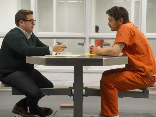 "Jonah Hill and James Franco in ""True Story."""