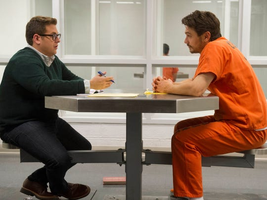 """Jonah Hill and James Franco star in """"True Story."""""""