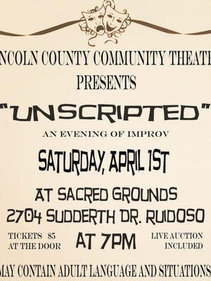 It's a night of improvisational theater at Sacred Grounds.