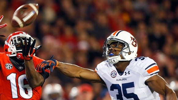 Auburn safety Jermaine Whitehead returned to the starting