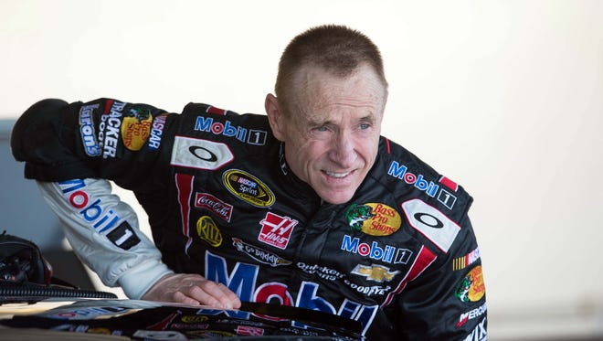 Mark Martin filled in for Tony Stewart in the second half of 2013 after Stewart broke his leg last summer.