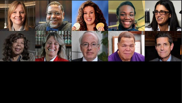 Our 2016 Michiganians of the Year: Ten people who make