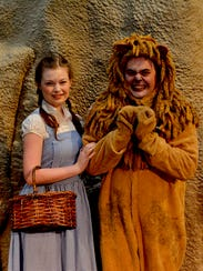 Dorothy and the Cowardly Lion (Amanda Derbyshire and