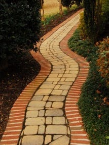 """You don't want to miss this walk way to beauty."""