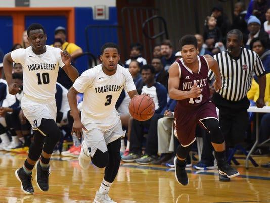 Boys basketball: Poughkeepsie v. Johnson City