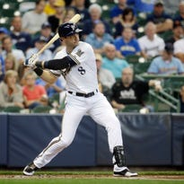 Brewers slugger Ryan Braun leads the majors with 33 RBIs since April 28.