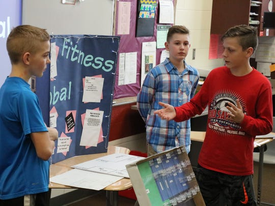 Landon Witte, Taylor Oberle and Josh Oliver present