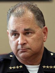 Muncie Police Chief Steve Stewart.