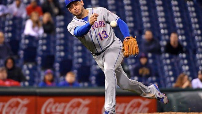 Mets infielder Asdrubal Cabrera