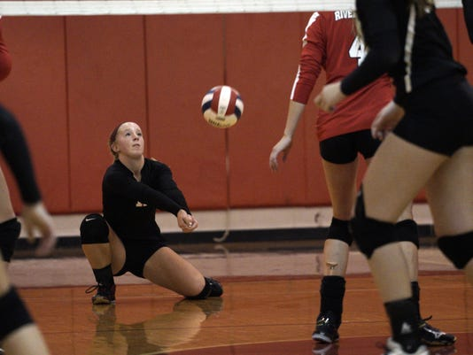 Gap at Riverheads Volleyball
