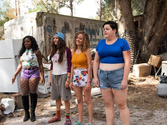 From left, Laci Mosely as Jayla, Patty Guggenheim as Erica, Laura Chinn as Shelby, and Melanie Field as Kaitlin. provided by POP NETWORK