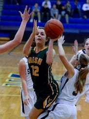 York Catholic's Kate Bauhof led the Y-A League in scoring