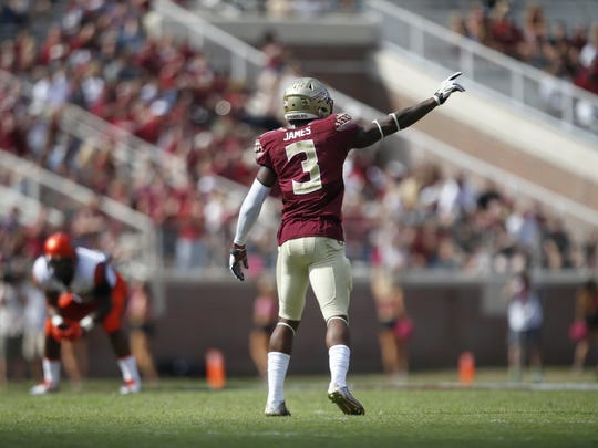 James is expected to lead a talented and deep FSU defense in 2016.