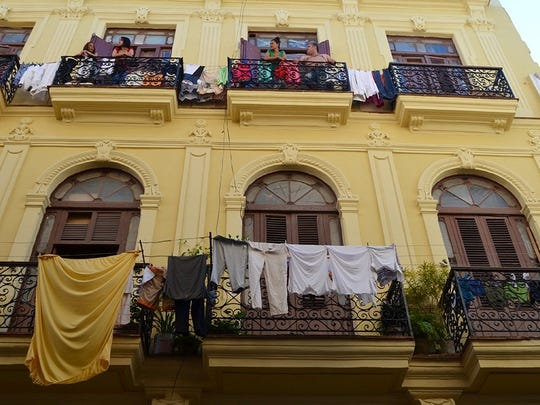 University of Delaware art professor Collete Gaiter capture this photo of Cuba during a trip she took to the island nation in 2015.