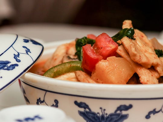 Table feature at House of Wong at 475 Union Ave, Bridgewater on August 28, 2015.