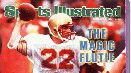 Doug Flutie Boston College; Dec. 3, 1984