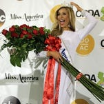 Miss New York Kira Kazantsev poses for photographers during a news conference after she was crowned Miss America 2015 during the Miss America 2015 pageant, Monday, Sept. 15, 2014, in Atlantic City, N.J.