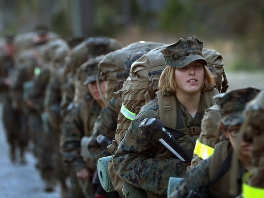 MAR Enlisted Women Infantry