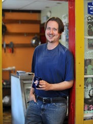 Wildflower Vegan owner Eric Nyman, Wednesday, Jun.